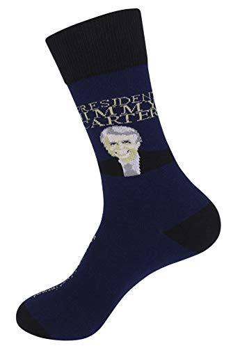 Funatic President: Jimmy Carter Quote With Signature Socks -