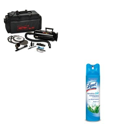 Data Vac Pro Cleaning Kit (KITMEVDV3ESD1RAC76938EA - Value Kit - Datavac ESD-Safe Pro 3 Professional Cleaning System (MEVDV3ESD1) and Neutra Air Fresh Scent (RAC76938EA))