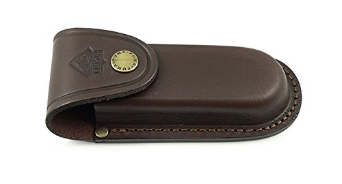 Puma German Brown Leather Belt Pouch/Sheath for Folding Knives by Puma Knives