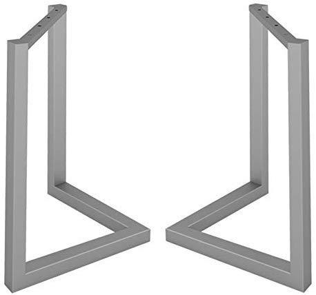 BCX Patas de mesa de barra ajustable, soporte en forma de V de ...