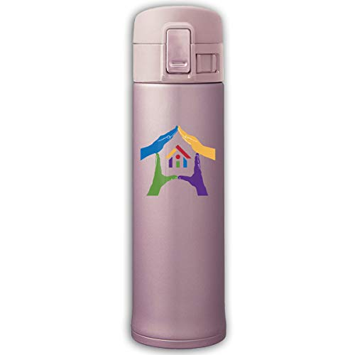 Community Development - Housing Programs Stainless Steel Vacuum-Insulated Mug - BPA Free - Water Bottle With Bounce Cover