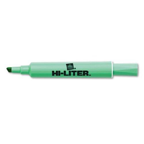 avery-07745-desk-style-highlighter-chisel-tip-light-green-ink-1-dozen