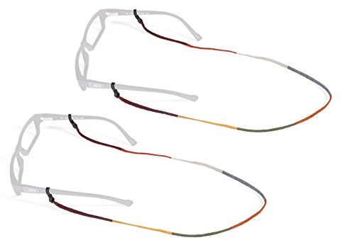 Croakies Guatemalan World Cord Eyeglass And Sunglass Retainer   Fashion Strap  Assorted Colors  2 Pack