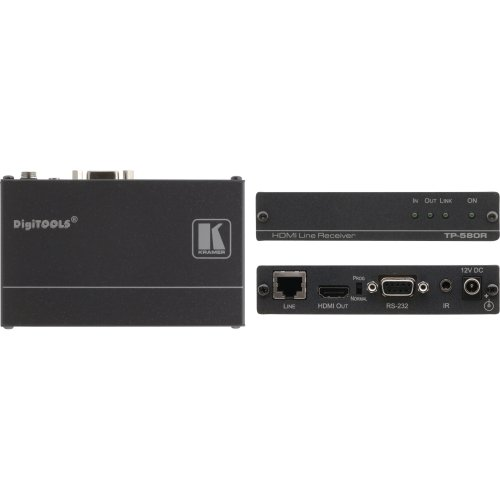 Kramer Digitools Tp-580R - Video/Audio/Infrared/Serial Extender - Up To 230 Ft - 1U ''Product Type: Computer Components/Video Cards & Adapters''