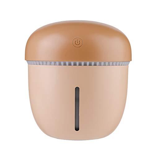 MNSSRN Creative Cute Big Pine Cone Humidifier, USB Portable 400ML Moisturizing Hydrating, Warm Atmosphere Night Light Home Office