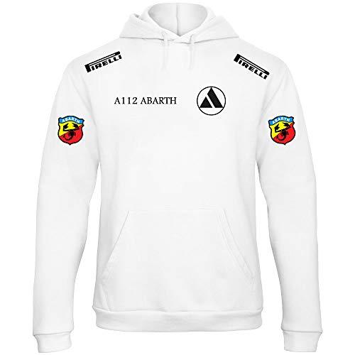 Sweat 500 À Scbu0199 Sweatshirt shirt Benvesti Fiat Capuche Abarth Sweat Logo qf0ww5Bd
