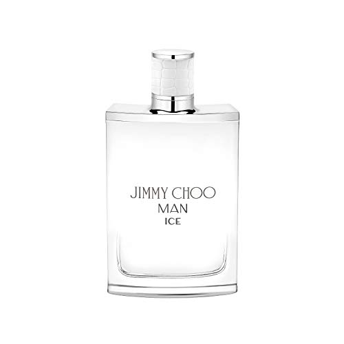 JIMMY CHOO Man Ice Eau De Toilette, Citrus Aromatic Woody, 3.3 fl. oz.