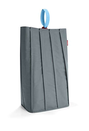 (reisenthel Laundrybag L, Large Modern Laundry Bag with Carrying Loop, Basalt)