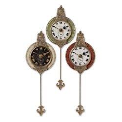 Buy uttermost monarch clock set of 3