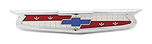 Danchuk 371 Hood Emblem with Bezel