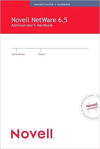 Novell NetWare 6.5 Administrator's Handbook (Novell Press) Book Pdf 3182LqPFbrL._SX333_BO1,204,203,200_