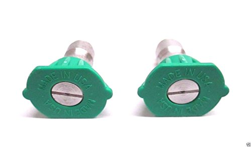 2 Pack Genuine Homelite 308699029 25° Pressure Washer Nozzle Green For Ryobi OEM