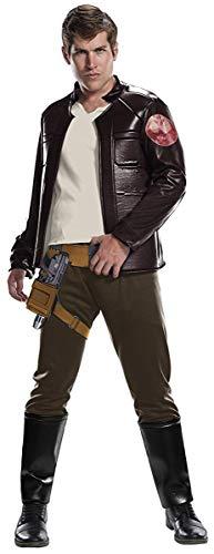 Rubie's Star Wars Episode VIII: The Last Jedi Men's Deluxe Poe Dameron Costume  Brown  X-Large]()