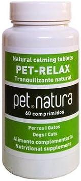 PetNatura Pet-Relax TRANQUILIZANTE 20 CP. para Perros Y Gatos: Amazon.es: Hogar
