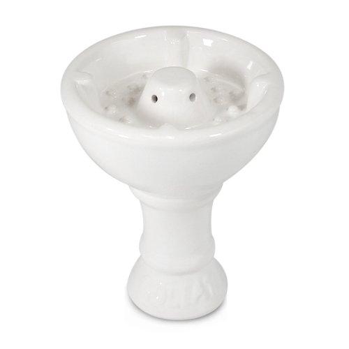 Sahara Smoke Vortex Goliath Hookah Shisha Bowl - White