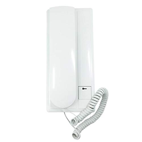 (FLHAINVER Building intercom Indoor Unit ▎ Access Control Wired doorbell Telephone ▎ intercom Telephone Non-Visual Access Control Household Landline Home)