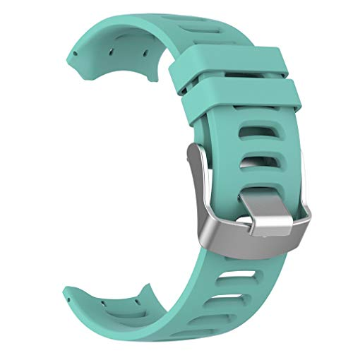 (FeiFei66 Adjustable Wristband Watch Band Wrist Strap for Garmin Forerunner 610 Operating Tool (Mint Green))