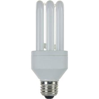 Sunlite SLS15/65K SLS Triple Tube 15 Watt Energy Saving CFL Light Bulb Medium Base Daylight