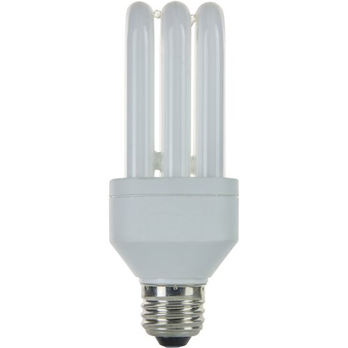 Sunlite SLS15/65K SLS Triple Tube 15 Watt Energy Saving CFL Light Bulb Medium Base Daylight (Triple Cfl Tube)