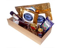 Alaskan Gift Box (Plethora of Alaskan gourmet foods) by Wild Alaskan Smoked Salmon & Seafood