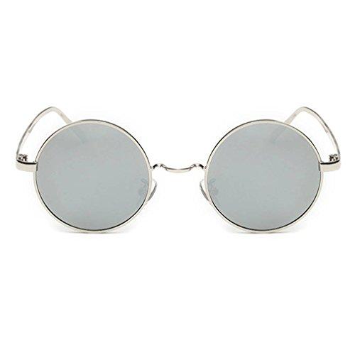 Hommes UV400 lunettes Mengonee de protection arrondissent 4 Retro Coolsir Femmes lunettes Driving Lunettes polarisants 0RAq75R