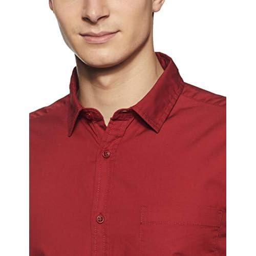 3182SUIuVRL. SS500  - Amazon Brand - Symbol Men's Casual Regular Fit Shirt
