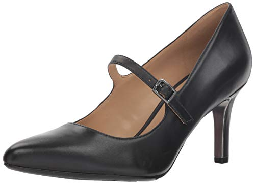 Naturalizer Women's Naiya Shoe, Black, 4 M US