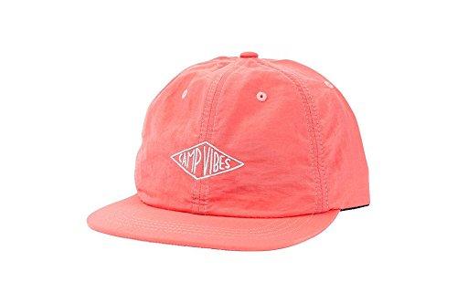 Poler CV Nylon Floppy Hat Grapefruit Pink Snapback