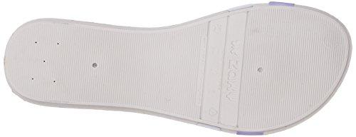 Zaxy Women's Summer Slide Sandal White GrwGM