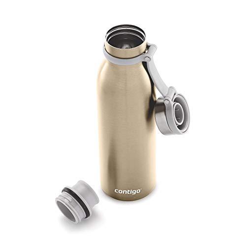 Contigo 20oz Matterhorn Couture Thermalock Vacuum-Insulated Stainless Steel Water Bottle (Chardonnay)
