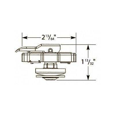Stant 10333 Lev-R-Vent Radiator Cap - 16 PSI: Automotive