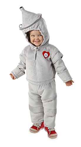 Princess Paradise Baby The Wizard Of Oz Tin Man Cuddly Costume, Grey, 6 Months 12 (Tin Man Baby Costume)