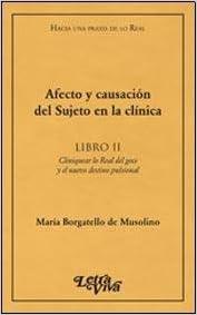 Book AFECTO Y CAUSACION DEL SUJETO EN LA CLINICA - II