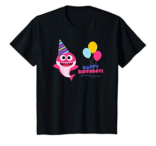 Kids Baby Shark T-shirt Birthday for Girls - Doo Doo Doo T-Shirt]()