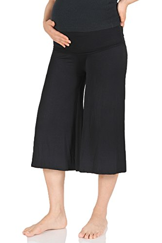 Beachcoco Women's Maternity Comfortable Capri Pants Made in USA