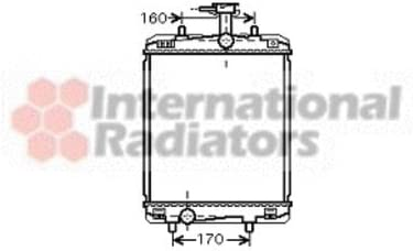 Van Wezel 53002363 Raffreddamento Motore