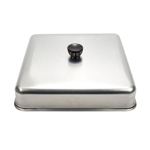 Aluminum Basting Cover (American Metalcraft BASQ1020 Square Basting Cover, Aluminum, 10-Inch Diameter)