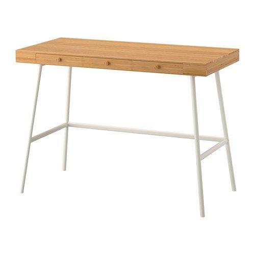 IKEA LILLASEN de escritorio de madera de bambú; (102 x 49 cm ...