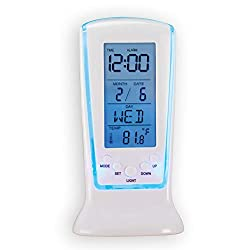Collections Etc GTV Buy from TV TempiClock-All in one Temperature and Alarm Clock