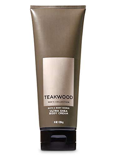 Bath & Body Works Men's Ultra Shea Body Cream in TEAKWOOD