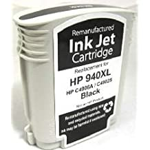 Ink Now Premium Compatible HP Black Ink Jet C4906AN, C4902AN, HP 940XL Black for OfficeJet Pro 8000, 8500 printers yld