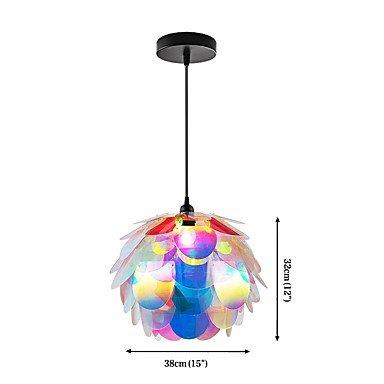 BAJIAN-LI Modern luxury A-10 Designer Style Artichoke Layered Ceiling Pendant Lampshade #10 by BAJIAN-LI (Image #2)