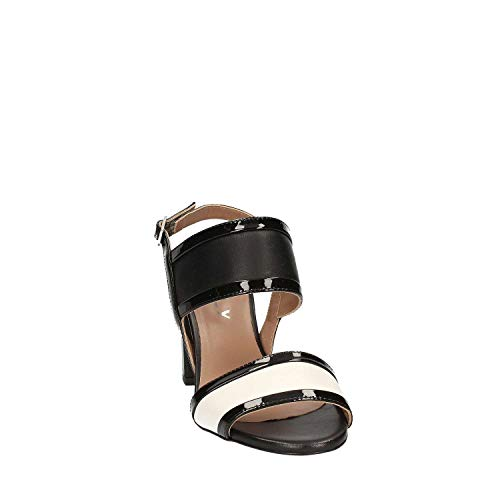 Nero Mally Tacco Donna Sandalo 5680 wRqOqxpYC