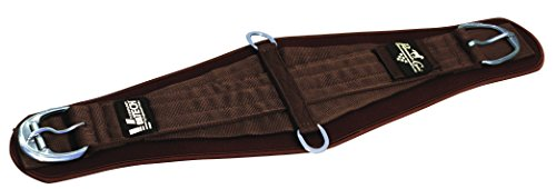 Professionals Choice Equine Ventech Roper Cinch (Size 36-Inch, Chocolate Brown) (Cinch Smx)
