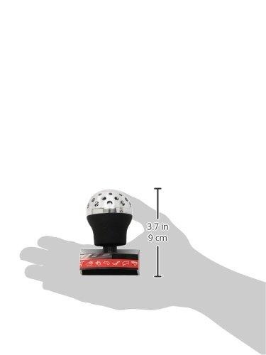Black Sumex 8000720 Speedster Leather Lift Reverse Gear Knob