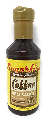 Sugarfire Smoke House   Coffee Rich & Roasted BBQ Sauce   18.5 Oz/524.5 Oz