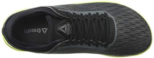 Reebok Men's CROSSFIT Nano 8.0 Sneaker, Alloy/Black/Solar Yellow, 6.5 M US by Reebok (Image #8)