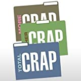 Knock Knock Total Crap 6 File Folders Per Pack