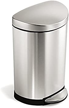 Simplehuman 10 Liter / 2.3 Gal. Semi-Round Trash Can