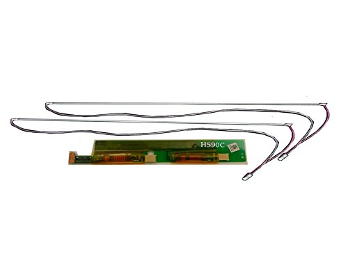 LCDPARTSDIRECT® Dual CCFL Backlight Lamp/Bulb With Wire Harness and Inverter Combo for 15.4